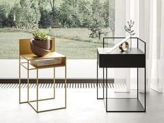 Tavolino rettangolare in metalloATIK - APP DESIGN