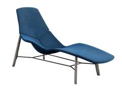 Chaise longue in tessutoATOLL - TACCHINI ITALIA FORNITURE