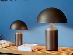 Lampada da tavolo in metallo bronzoATOLLO BRONZO - OLUCE