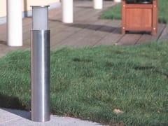 Paletto luminoso in acciaio inox per spazi pubbliciATREX 100 FL - BEL-LIGHTING