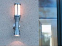 Applique per esterno a luce diretta e indiretta in acciaio inox ATREX G - Atrex