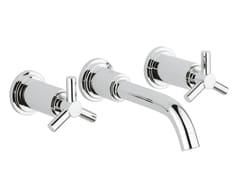 Rubinetto per lavabo a 3 fori senza scarico ATRIO CLASSIC YPSILON SIZE S | Rubinetto per lavabo a muro - Atrio Classic
