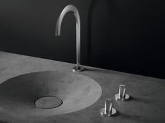 Rubinetto per lavabo da piano con rosette separateATRIO ICON 3D | Rubinetto per lavabo da piano - GROHE