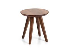 Tavolino rotondo in legno ATTESA | Tavolino in legno - Attesa