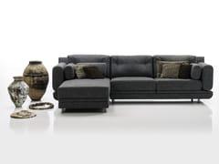 Divano in tessuto con chaise longue ATTITUDE | Divano con chaise longue - Attitude