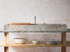Lavello da appoggio in marmoAUGE Sarrancolin - OBJETS ARCHITECTURAUX