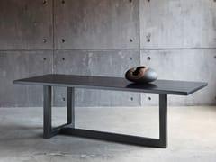 Tavolo da salotto rettangolare in metalloAUGUSTIN - ZEUS