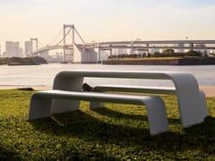 Tavolo per spazi pubblici rettangolareAURORA - BELLITALIA