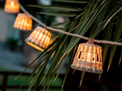 Lampada a sospensione per esterno a LED su caviAURORA - NEWGARDEN SPAIN