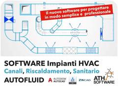 ATH ITALIA software, AUTOFLUID Calcolo di impianti HVAC