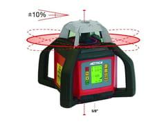 Autolivello laser 4 maniglieAUTOLIVELLO LASER ROTATIVO CON PIANO INCLINABILE - METRICA