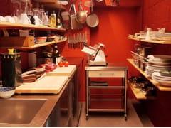 Cucina componibile professionale in acciaio inoxAUXILIUM CUCINA INDOOR FREE STANDING - JOKODOMUS