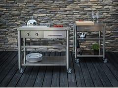 Cucina da esterno in acciaio inoxAUXILIUM CUCINA OUTDOOR FREE STANDING - JOKODOMUS