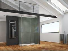 MEGIUS, AXER | Box doccia con porta scorrevole  Box doccia con porta scorrevole