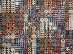 Tessuto da parete da tappezzeria in cotone in stile moderno con motivi graficiJEAN PAUL GAULTIER - AZULEJOS - LELIEVRE