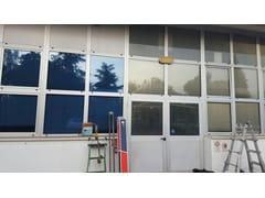Pellicola per vetri a controllo solare antigraffio adesivaAZULITE 35 XTRA | Pellicola per vetri a controllo solare - TOPFILM