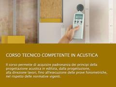UNIPRO, Tecnico competente in acustica Corso di progettazione impiantistica