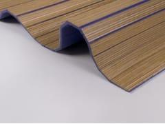 Plexwood, Acustico - Feltro di lana flessibile Pannelli acustici in legno e feltro