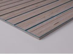 Plexwood, Acustico - Feltro di lana rigido Pannelli acustici in legno e feltro