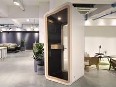 Cabina telefonica acustica con illuminazione integrataCabina telefonica acustica - ELITABLE