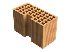 SIAI, Alveolater® 45 BIO PZS 30x14,5x19 B.M.A. Blocco in laterizio alveolato per muratura portante armata