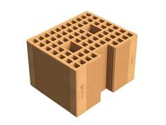 Blocco portante in laterizio per murature armateAlveolater® 45 BIO PZS 30x25x19 B.M.A. - SIAI