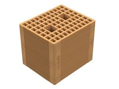 Blocchi portanti ad alte prestazioni termiche in laterizioAlveolater® 45 BIO - PZS 30x25x25 - SIAI
