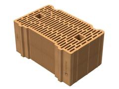 SIAI, Alveolater® 45 BIO - PZS 40x25x19 Blocco in laterizio con tasca di malta