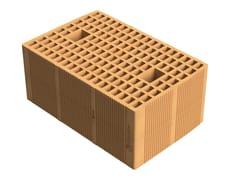 SIAI, Alveolater® 45 BIO - PZS 45x30x19 Blocchi portanti ad alte prestazioni termiche in laterizio