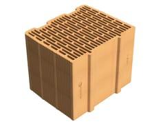 Blocco termico portante in laterizio alveolatoAlveolater® 55 BIO P 30x24,5x25 BSS-22 I - SIAI
