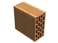 SIAI, Alveolater® 60 BIO - T 12x25x25 Blocchi per tamponamento ad alte prestazioni termiche