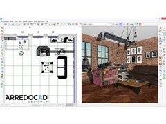 Software 3D per progettazione di interniArredoCAD Designer - DINAMICA