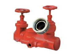 Componente per impianto antincendio Attacco in linea ad un idrante -