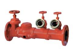 Componente per impianto antincendio Attacco in linea flangiato -