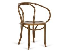 Sedia in faggio con braccioliB-1840 | Sedia con braccioli - PAGED MEBLE