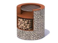 Barbecue in acciaio Corten™B - B SASS - METALCO