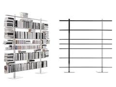 Libreria a parete componibile modulare in lamieraB.BLIOTEK | Libreria a parete - BBB