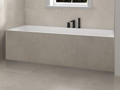 Vasca da bagno rettangolare in Corian® su misuraB-ROUND   Vasca da bagno in Corian® - RILUXA