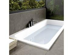 Vasca da bagno a semincasso in Corian® su misuraB-ROUND   Vasca da bagno a semincasso - RILUXA
