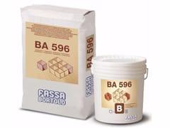 FASSA, BA 596 Malta bicomponente fibrorinforzata a ritiro controllato
