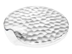 Piatto da dessert piano in vetro decoratoBABILONIA | Piatto da dessert - INDUSTRIA VETRARIA VALDARNESE