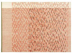Tappeto fatto a mano rettangolare in lana a righeBACKSTITCH BUSY BRICK - GAN BY GANDIA BLASCO