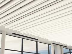 BAFFLE ACUSTICI IN METALLOBAFFLES TAVOLA™ LEVELS - ARCHITECTURAL PROMETAL