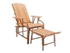 Chaise longue in rattanBAGATELLE | Chaise longue - KOK MAISON