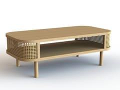 Tavolino rettangolare in MDFBALI - DEEPGREEN DESIGN
