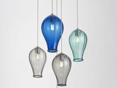 Lampada a sospensione a luce diretta in vetro di MuranoBALLOON   Lampada a sospensione - ZAFFERANO AILATI LIGHTS