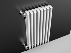 Radiatore in alluminio a pareteBAMBOOO - RIDEAHEATING