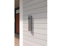 Posacenere per spazi pubblici da parete in acciaio inoxBAMBOO | Posacenere per spazi pubblici da parete - CITY DESIGN