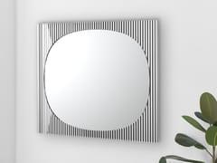 Specchio quadrato da parete BANDS | Specchio quadrato -