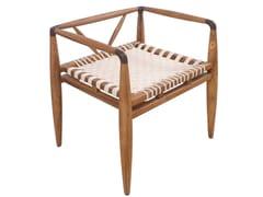 Sedia in teak con braccioliBANGKU | Sedia - ALANKARAM